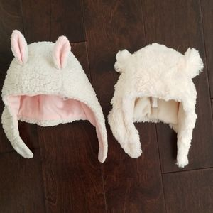Two 6-12 month hats.
